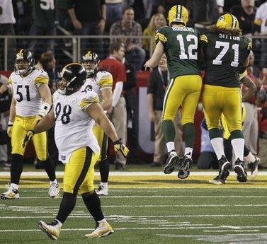 Green Bay takes Super Bowl 31-25