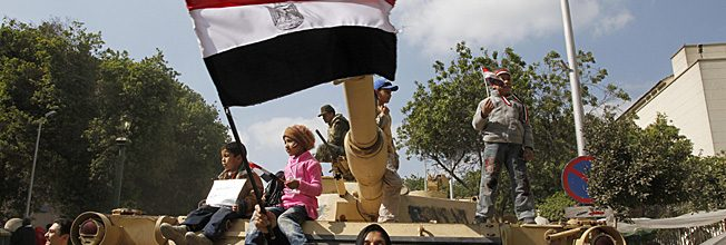 Egyptians hopeful over an uncertain future