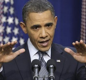 President Barack Obama gestures during a news conference on the White House complex  in Washington, Tuesday, Feb. 15, 2011.  (AP Photo/Carolyn Kaster)