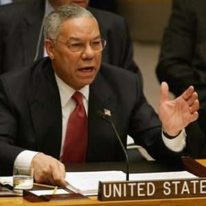 Former Secretary of States Colin Powell: He's not happy (AFP)