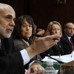 Fed chairman Ben Bernanke testifies (Reuters)