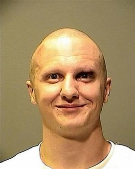 Jared Lee Loughner the suspect in the attempted assassination of U.S. Representative Gabrielle Giffords, is shown in this Pima County Sheriff's Forensic Unit handout photograph released to Reuters on January 10, 2011. REUTERS/Pima County Sheriff's Forensic Unit/Handout