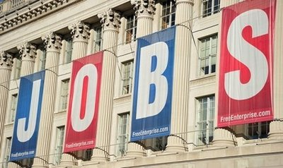 Hiring increase could mean turning point in jobs crisis