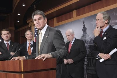 John McCain, Tom Carper, Rob Portman, Michael Bennet, Joe Manchin