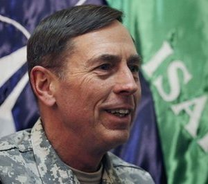 Gen. David Petraeus the top U.S. and NATO commander in Afghanistan speaks during an interview with The Associated Press at the NATO's head quarter in Kabul, Afghanistan on Wednesday, March 9, 2011. The top U.S. and NATO commander in Afghanistan says fighting this summer may be worse than last year but some reduction in American forces is still possible in July. (AP Photo/Musadeq Sadeq)