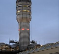 What happened in the control tower of Reagan Airport?