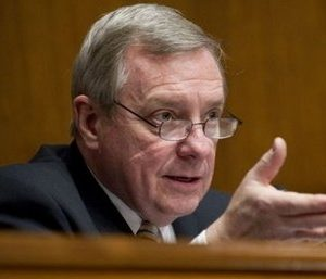 Senate Assistant Majority Leader Dick Durbin (AFP)