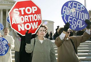 Abortion case: Keeping it personal