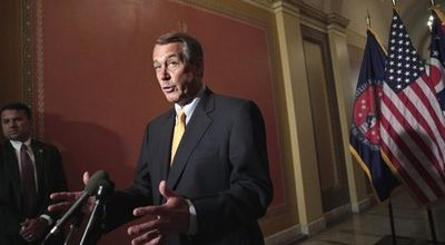 Boehner walks political tightrope on budget