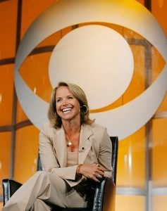 "Katie Couric, CBS News anchor and correspondent, answers questions about her upcoming season anchoring ""CBS Evening News with Katie Couric"" during a news conference in Pasadena, Calif. (AP Photo/Lucas Jackson, File)"