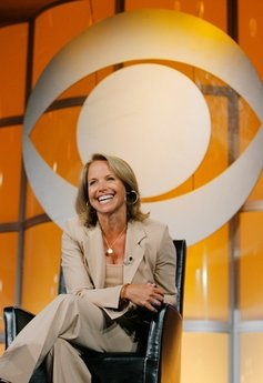 """Katie Couric, CBS News anchor and correspondent, answers questions about her upcoming season anchoring """"CBS Evening News with Katie Couric"""" during a news conference in Pasadena, Calif. (AP Photo/Lucas Jackson, File)"""