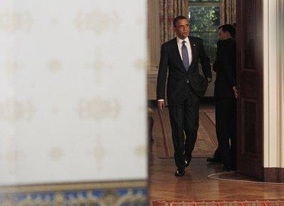 Budget battle tests Obama's leadership