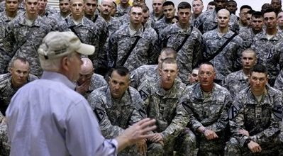Pentagon backing away from Iraq withdrawal deadline