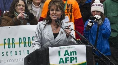 Palin's road show fizzles in Wisconsin
