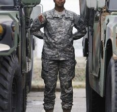 Time for new combat uniforms for female soldiers