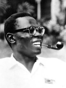 Barack Obama Sr., father of President Barack Obama.  Federal immigration records indicate the elder Obama was forced to leave Harvard University in 1964 before finishing his doctorate in economics because the school was concerned about his personal life and finances.