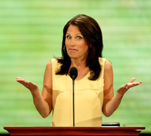 Rep. Michelle Bachmann: What, me worry?