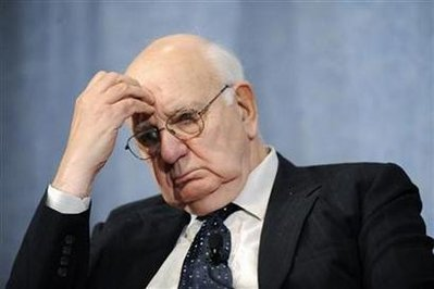 Former Federal Reserve Chairman Volcker