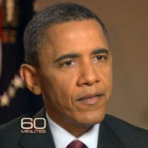 President Barack Obama (CBS/60 Minutes)