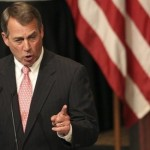 U.S. House Speaker John Boehner gestures as he addresses the Economic Club of New York in New York, Monday, May 9, 2011.  The Economic Club of New York is a non-political, non-partisan and non-profit organization with members from the executive levels of business, industry and finance. Its mission is to promote the study and discussion of social, economic, and political questions. (AP Photo/Kathy Willens)