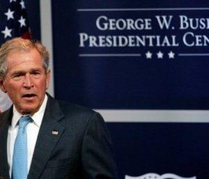 Former President George W. Bush (AFP)