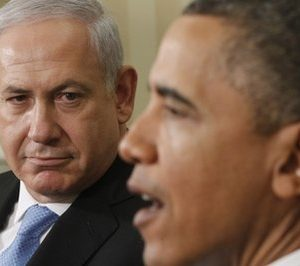 President Barack Obama meets with Prime Minister Benjamin Netanyahu of Israel in the Oval Office at the White House in Washington, Friday, May 20, 2011. (AP Photo/Charles Dharapak)