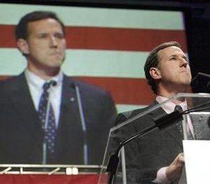 Former Pennsylvania Senator Rick Santorum  REUTERS/Brian C. Frank