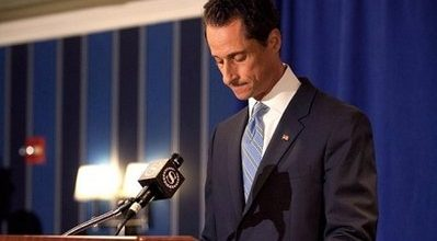 Serial liar Anthony Weiner admits sending lewd photo