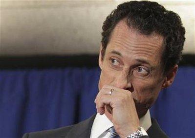 Anthony Weiner: 'Hell no, I won't go'