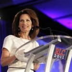 U.S. Rep. Michele Bachmann (R-MN) speaks during the Republican Leadership Conference in New Orleans, Louisiana June 17, 2011.  REUTERS/Sean Gardner