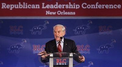 Ron Paul wins GOP straw poll in New Orleans