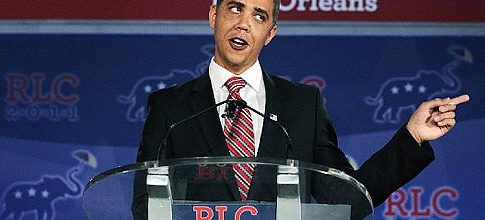 Obama impersonator goes too far, booted from GOP confab