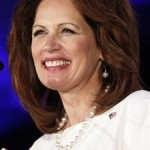 Republican presidential hopeful, Rep. Michele Bachmann, R-Minn., speaks at the Republican Leadership Conference in New Orleans, Friday, June 17, 2011. Tough talk from the candidates vying for the 2012 GOP presidential nomination has escalated in recent weeks into a game of one-upsmanship at a thousands-strong Republican gathering.(AP Photo/Patrick Semansky)