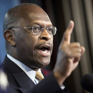 GOP Presidential wannabe Herman Cain