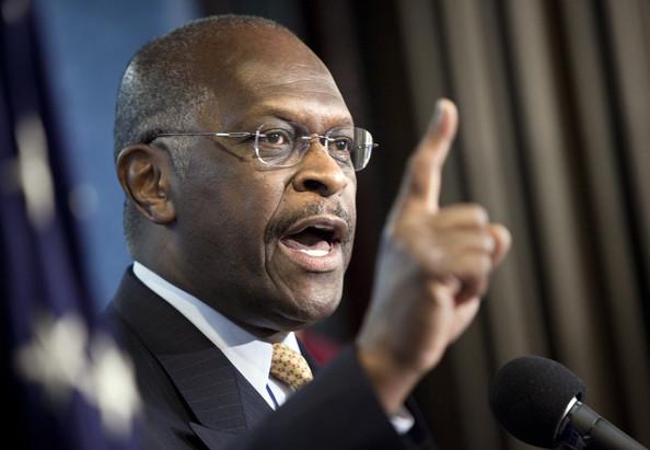 GOP Presidential wannabe Herman Cain