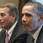 Speaker of the House John Boehner and President Barack Obama: Plenty of blame to go around (AP)