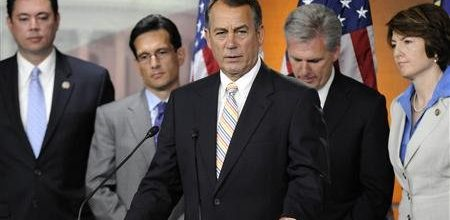 Boehner: GOP will do debt deal without Democrats if necessary