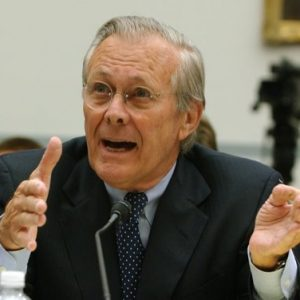 Former Defense Secretary Donald Rumsfeld     (AP Photo/Dennis Cook, File)