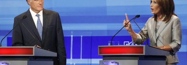 Pawlenty, Bachmann tear into each other in GOP debate