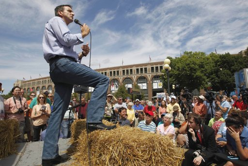 Iowa straw poll provides first test for 2012 wannabes