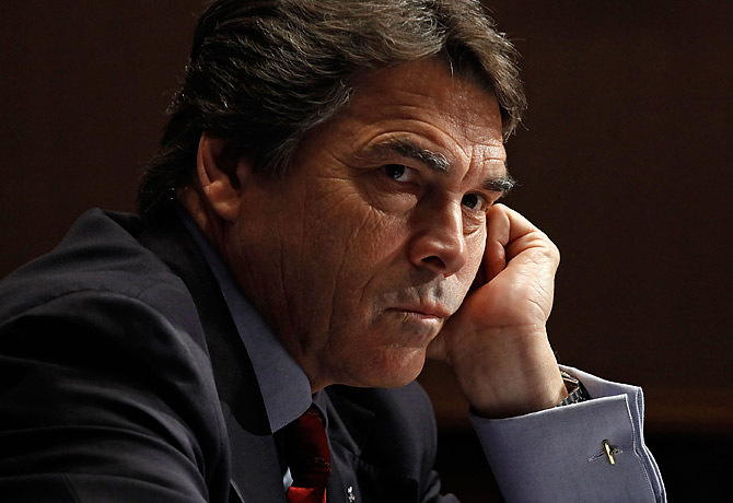 The real Rick Perry: Playing the veteran card