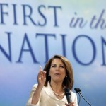 Michelle Bachmann: Facts? We don't need no stinkin' facts. (AP Photo/Charlie Neibergall)