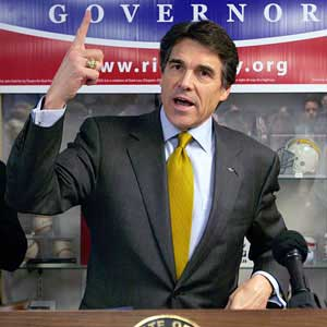 Rick Perry: The mouth that roared?