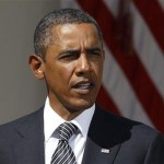 President Barack Obama speaks about a clean extension of the Federal Aviation Administration Reauthorization which expires in mid-September in the Rose Garden of the White House in Washington. REUTERS/Larry Downing