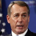Speaker of the House John Boehner addresses the Economic Club in Washington. (REUTERS/Kevin Lamarque)