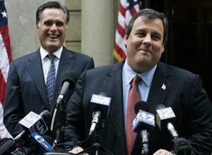 Chris Christie and Romney (Mel Evans/AP)