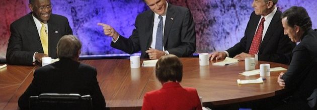 Romney cruises to another debate win as Perry's fade continues