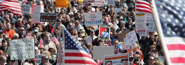 Tea party struggles to regain lost glory