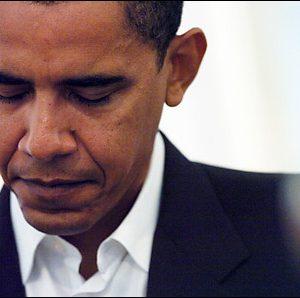 President Barack Obama: No so happy days