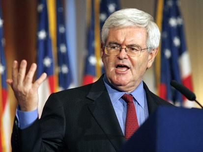 Newt Gingrich: A temporary contender?